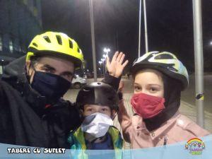 Cu bicicletele in Parc
