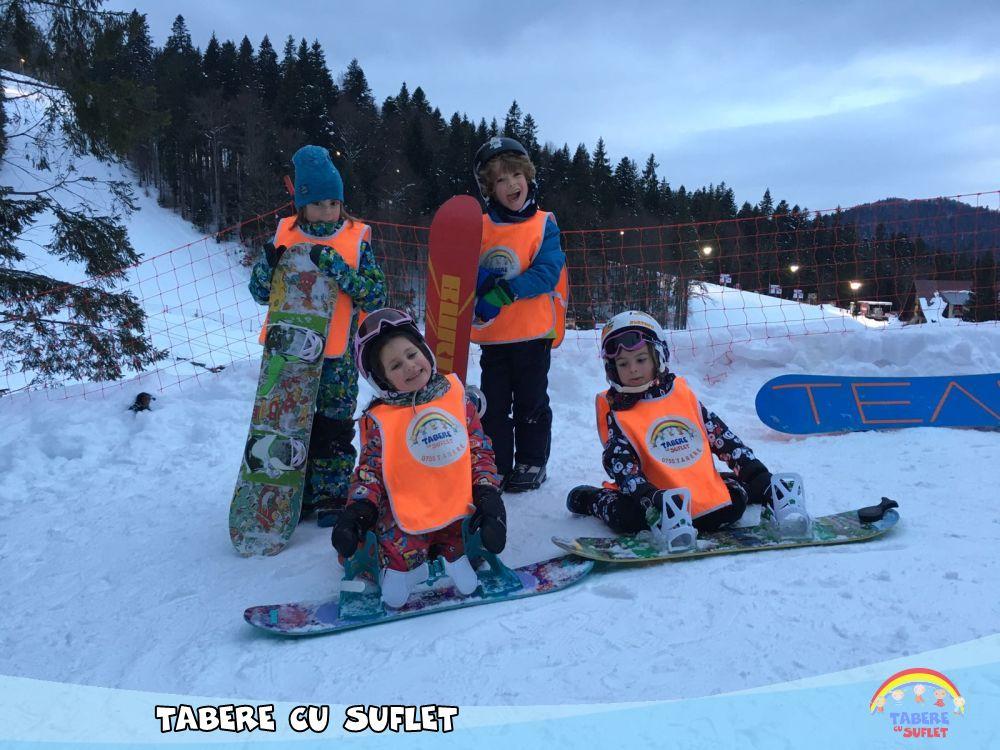 Snowboard Tabere cu Suflet